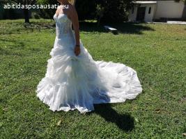 abito da sposa dello stilista Giuseppe Giusari